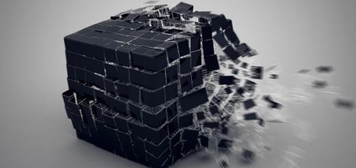 Cube Disintegration