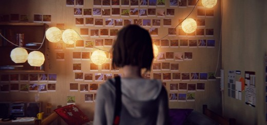 Life is Strange, Max viewing selfie wall