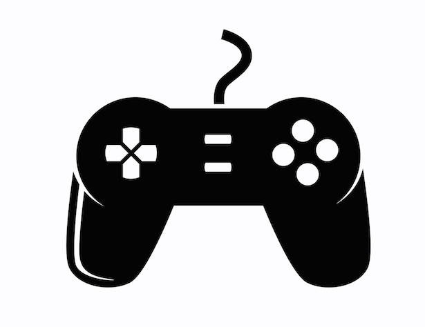 Video Game Controller Icon Gaming the Literary: O...